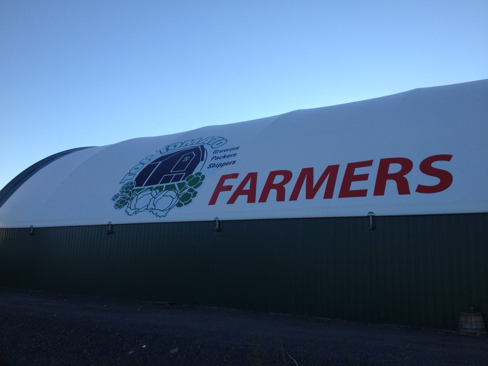 Top Tomato Foods Dome Tent Graphics